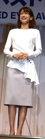 『第31回 日本 メガネ ベストドレッサー賞』に出席した加藤綾子 (C)ORICON NewS inc.