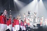 東京ドームでEXILEと岩手県釜石市立釜石東中学校の生徒114人が共演