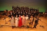 鹿児島・鹿屋市文化会館で開催された『大河ドラマ「西郷どん」キャストトーク&コンサート』出演者(C)NHK