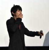 投げキッス=映画『あのコの、トリコ。』の大ヒット御礼舞台あいさつ (C)ORICON NewS inc.