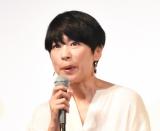 短編ドラマ『青葉家のテーブル』第1話・第2話の完成披露試写会に出席した西田尚美 (C)ORICON NewS inc.
