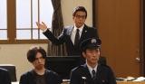 妻を殺害した容疑で逮捕された浅野洋平(桐山漣)の弁護を引き受けた大鷹高志(勝村政信)(C)テレビ朝日