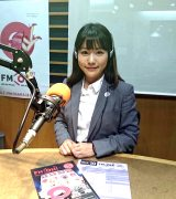 夢をかなえてFM OSAKAの社員となった河野早紀さん