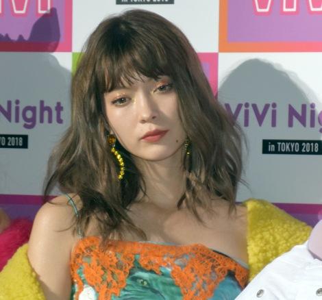 『ViVi Night in TOKYO 2018 HALLOWEEN PARTY』の開演前囲み取材に出席した八木アリサ (C)ORICON NewS inc.