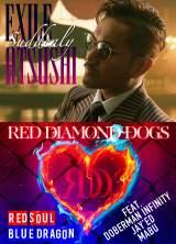 EXILE ATSUSHI/RED DIAMOND DOGSの両A面ニューシングル「Suddenly/RED SOUL BLUE DRAGON」豪華盤ジャケット【表】