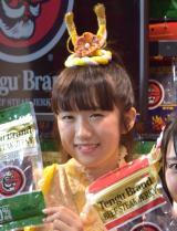 『TENGU HOUSE』のメディアイベントに出席したはっぴっぴ・さくらなみき (C)ORICON NewS inc.