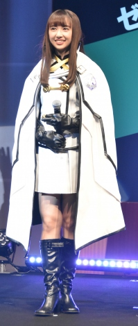 スマートフォンゲーム『ゲシュタルト・オーディン完成披露発表会』に登場した小宮有紗 (C)ORICON NewS inc.