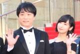 『第31回東京国際映画祭』オープニングイベントのレッドカーペットに登場した(左から)関智一、佐倉綾音 (C)ORICON NewS inc.