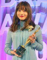 『東京ドラマアウォード2018』で主演女優賞を受賞した石原さとみ (C)ORICON NewS inc.