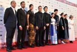 『第31回東京国際映画祭』オープニングイベントのレッドカーペットに登場した『アジア三面鏡2018:Journey』キャスト (C)ORICON NewS inc.
