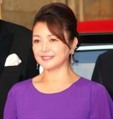 『第31回東京国際映画祭』オープニングイベントのレッドカーペットに登場した原日出子 (C)ORICON NewS inc.