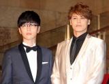 『第31回東京国際映画祭』オープニングイベントのレッドカーペットに出席した(左から)櫻井孝宏、宮野真守 (C)ORICON NewS inc.
