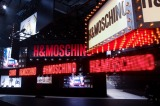 MOSCHINO H&Mのショーの模様