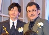 『東京ドラマアウォード2018』グランプリの『おっさんずラブ』に出演した(左から)田中圭、吉田鋼太郎(C)ORICON NewS inc.