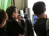サカゼン(坂善商事株式会社)新テレビCM『BIG SMILE』篇、撮影風景