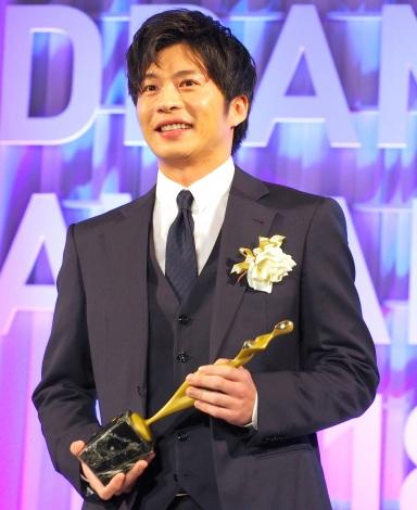 『東京ドラマアウォード2018』で主演男優賞を受賞した田中圭 (C)ORICON NewS inc.