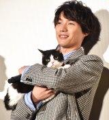 映画『旅猫リポート』公開記念舞台あいさつに登壇した福士蒼汰 (C)ORICON NewS inc.