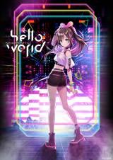 """単独2Daysライブイベント『Kizuna AI 1st Live """"hello, world""""』ビジュアル (C)Kizuna AI"""