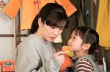 18歳で見事に母性も演じた (C)NHK