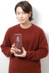 第13回『コンフィデンスアワード・ドラマ賞』で、助演男優賞を受賞した佐藤健 (撮影:草刈雅之)