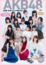『AKB48総選挙!私服サプライズ発表 2018』(集英社/10月17日発売)