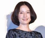 映画『あいあい傘』初日舞台あいさつに登壇した原田知世 (C)ORICON NewS inc.