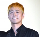 映画『あいあい傘』初日舞台あいさつに登壇した宅間孝行監督 (C)ORICON NewS inc.