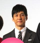濱田マリの筋肉を絶賛した西島秀俊=映画『オズランド 笑顔の魔法おしえます。』公開記念舞台あいさつ (C)ORICON NewS inc.