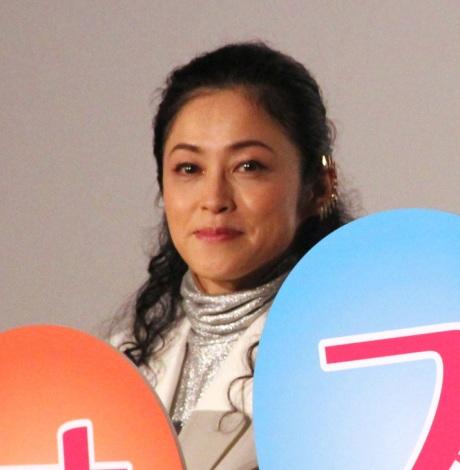濱田マリ=映画『オズランド 笑顔の魔法おしえます。』公開記念舞台あいさつ (C)ORICON NewS inc.