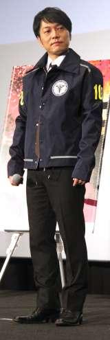 劇場アニメ3部作『PSYCHO-PASS サイコパス Sinners of the System』ワールドプレミア上映会に出席した野島健児(C)ORICON NewS inc.