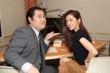 29日放送の月9ドラマ『SUITS/スーツ』第4話副音声に参加する小手伸也、中村アン (C)フジテレビ