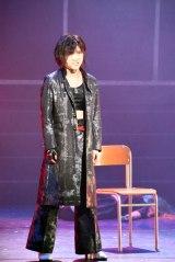 岡田奈々=AKB48が出演する舞台『マジムリ学園』公開ゲネプロの模様 (C)ORICON NewS inc.