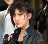 舞台『マジムリ学園』の初日前囲み取材に出席したAKB48・岡田奈々 (C)ORICON NewS inc.