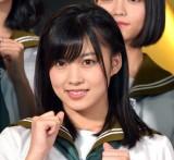 舞台『マジムリ学園』の初日前囲み取材に出席したAKB48・岡部麟 (C)ORICON NewS inc.