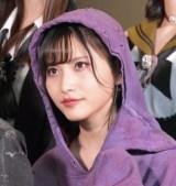 舞台『マジムリ学園』の初日前囲み取材に出席したAKB48・福岡聖菜 (C)ORICON NewS inc.