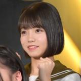 舞台『マジムリ学園』の初日前囲み取材に出席したAKB48・高橋彩音 (C)ORICON NewS inc.