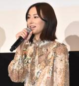 映画『スマホを落としただけなのに』公開直前イベントに出席した北川景子 (C)ORICON NewS inc.