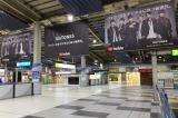 JR品川駅に登場したSixTONES(ストーンズ)巨大ポスター