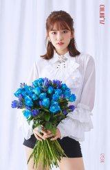 アン・ユジン=12人組ガールズグループ「IZ*ONE」が韓国でデビュー(C)OFF THE RECORD