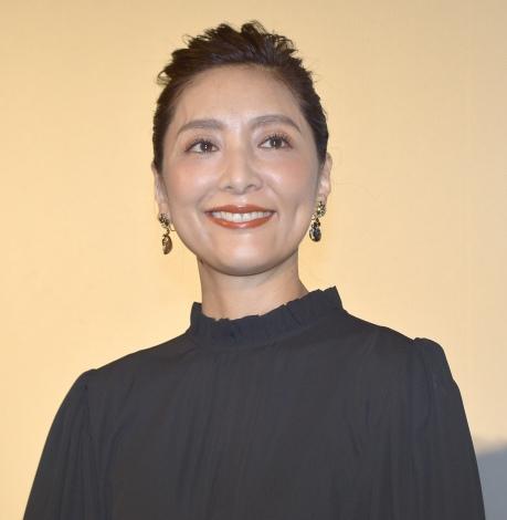 映画『あまのがわ』舞台あいさつに登壇した生田智子 (C)ORICON NewS inc.