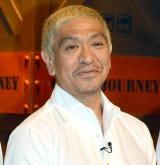 TBS系バラエティー番組『クレイジージャーニー』ゴールデンSP収録後の囲み取材に出席した松本人志 (C)ORICON NewS inc.