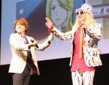 (左から)内田雄馬、DJ KOO (C)ORICON NewS inc.
