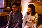 水曜ドラマ『獣になれない私たち』第4話より松田龍平、新垣結衣 (C)日本テレビ