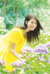 『週刊ヤングジャンプ』35号に登場する今田美桜 (C)長野博文/集英社