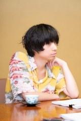 共作の恋愛小説『犬も食わない』を出版した尾崎世界観(撮影・新潮社写真部)