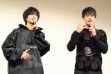 映画『走れ! T校バスケット部』の公開直前イベントに参加した(左から)志尊淳、竹内涼真 (C)ORICON NewS inc.