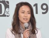 映画『男はつらいよ 50 おかえり、寅さん』の制作発表記者会見に出席した後藤久美子