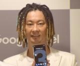スマートフォン『Google Pixel 3』『Google Pixel 3 XL』の発売記念セレモニーに参加したTOMO (C)ORICON NewS inc.