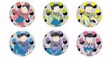 劇場版『えいがのおそ松さん』第2弾前売特典の缶バッジ(C)赤塚不二夫/えいがのおそ松さん製作委員会 2019