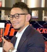 WOWOW特別番組『UFC IS BACK! 究極格闘技が帰ってくる』収録後の合同取材会に出席した宇野薫 (C)ORICON NewS inc.